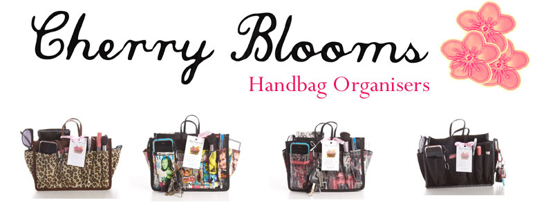 Cherry Blooms Handbag Organisers | Doll Face Handbag Boutique
